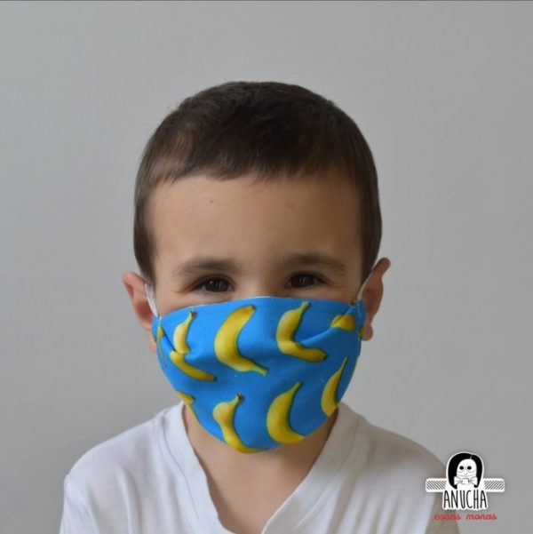 Mascarilla Infantil Anucha