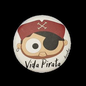 CHAPA VIDA PIRATA