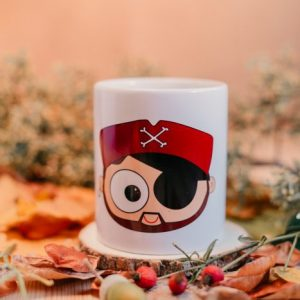TAZA PIRATA CHICO