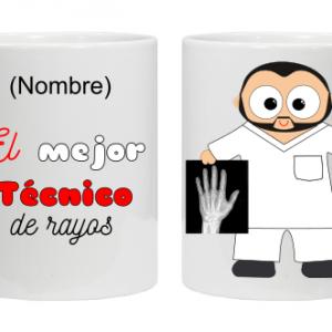 TAZA TÉCNICOS DE RAYOS