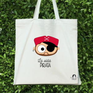 TOTEBAG PIRATA CHICO