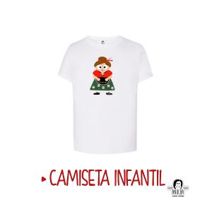CAMISETA DULCINEA INFANTIL