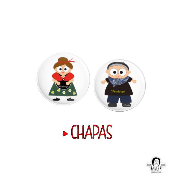 CHAPAS PANDORGA ANUCHA